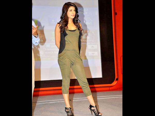 Priyanka Chopra loves jumpsuits