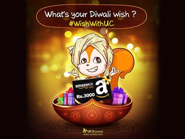 What Indians Wished For This Diwali: A UC web Analysis