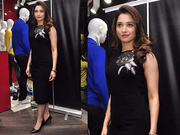Tamannaah Bhatia In Ridhi Mehra Gorgeous Black Dress