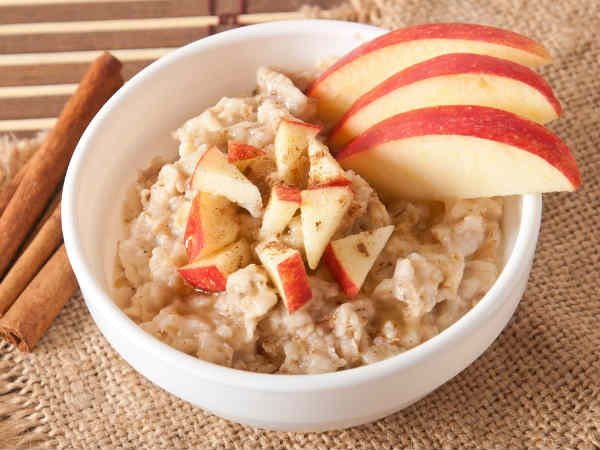 Broken Wheat and Apple Porridge Recipe