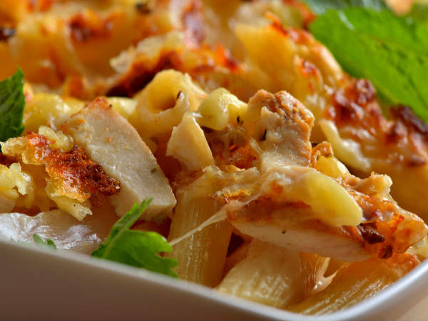 Lemony Chicken Pasta Recipe