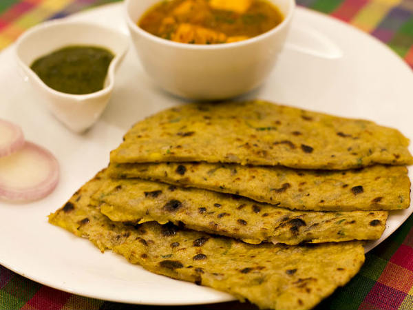 Poha thepla or Poha Paratha Recipe