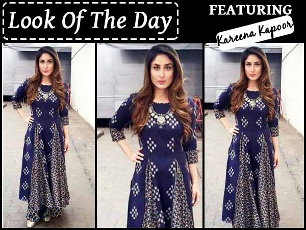 Look Of The Day: Kareena's All New Desi Look Will Surely Make Your Tuesday!