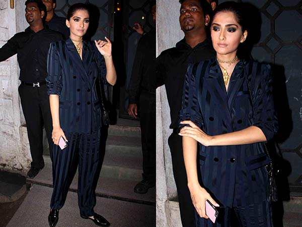 Sonam Kapoor Forgot To See Mirror Before She Walked Out In This Ugly Pantsuit