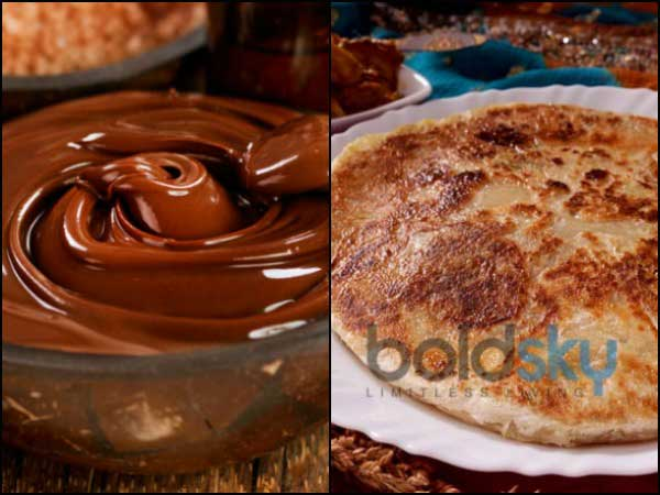 Kids Favourite: Chocolate Paratha Recipe