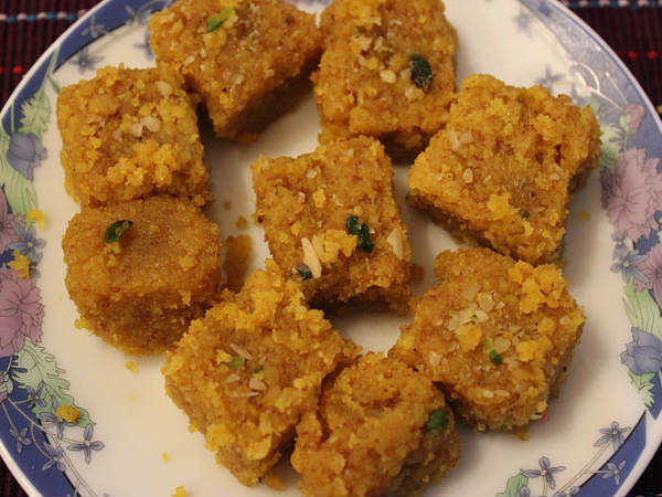 Dalia Burfi Recipe – Broken Wheat Burfi Recipe