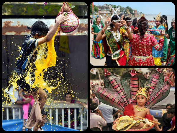 Pics: देखिये कहां - कहां लोग कैसे मना रहे हैं श्री कृष्ण जन्माष्टमी