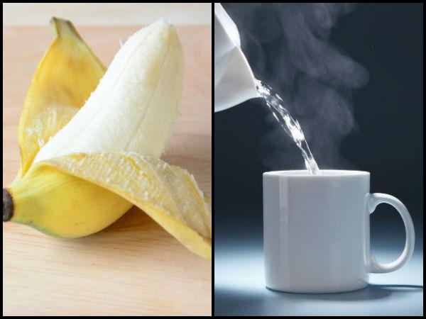 अब जरुर घटेगा मोटापा... रोज़ सुबह केला खा कर पियें 1 कप गर्म पानी