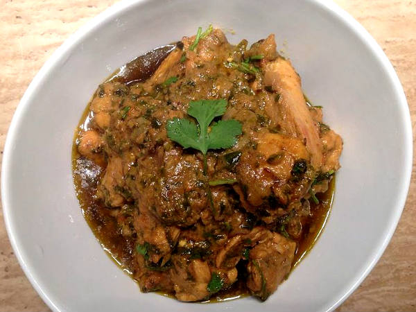 METHI CHAMAN CHICKEN recipe