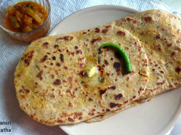 how to make masala paratha recipe