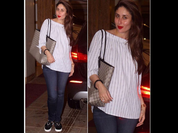 Spotted: Mommy-to-be Kareena Kapoor Hiding Her Baby Bump In Nastygal Top
