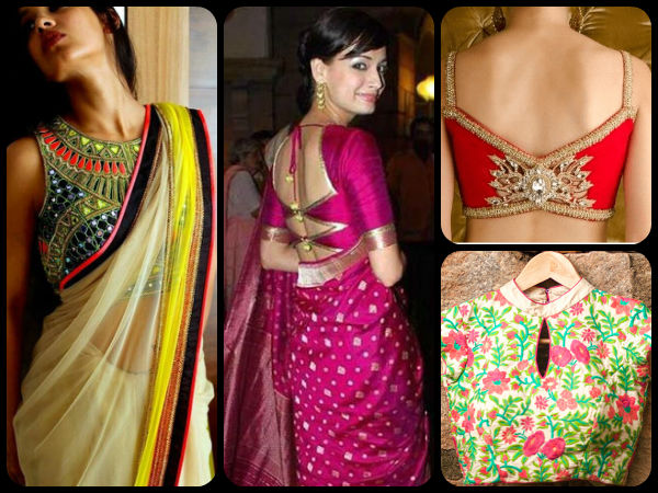 8 Hot Blouse Patterns You Got To Try This Diwali Season