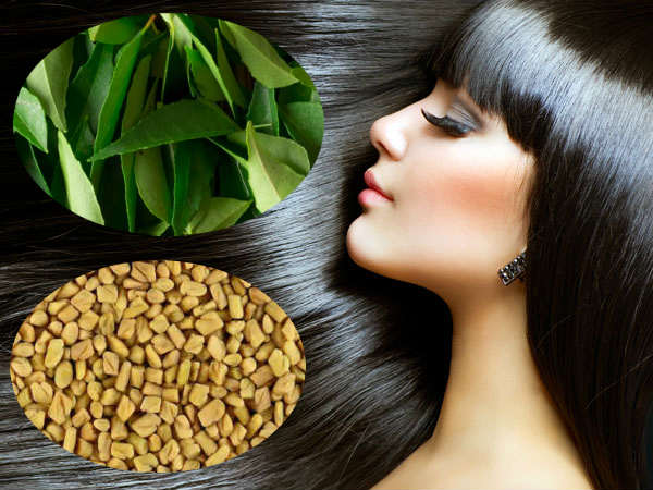 What Happens When You Apply Curry Leafs With Methi To Your Hair?