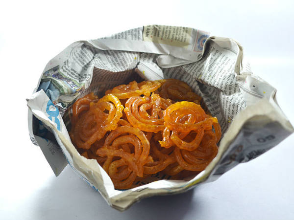 Are You Still Eating Foods Wrapped In A Newspaper?