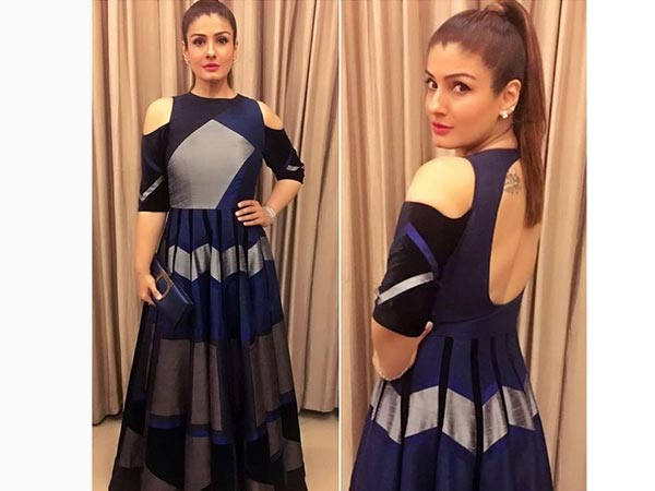 Raveena Tandon Looked Ravishing At The Filmfare Nominations Party2