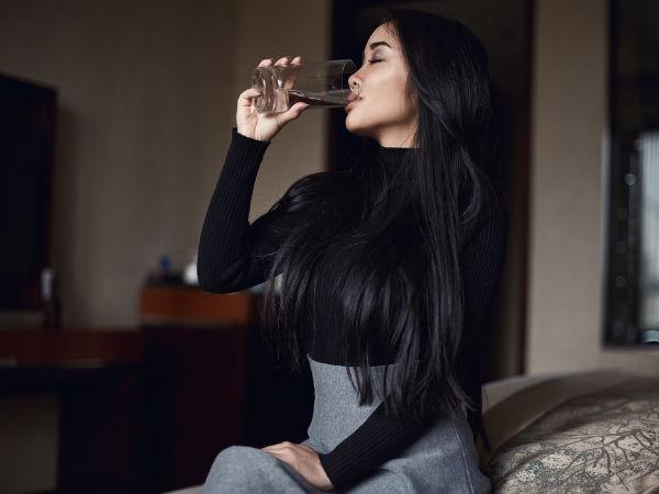 drinking water before sleep is best