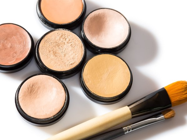 एंगल्ड ब्रश - Makeup Brush Kit