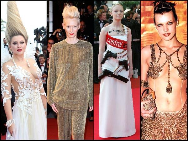 #Cannes 2017: रेड कार्पेट पर फैशन डिजास्टर, जब कोई रिवॉल्वर रानी  तो कोई एलियन बनकर आया