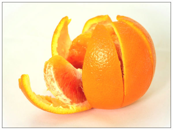 why are orange peels good for you