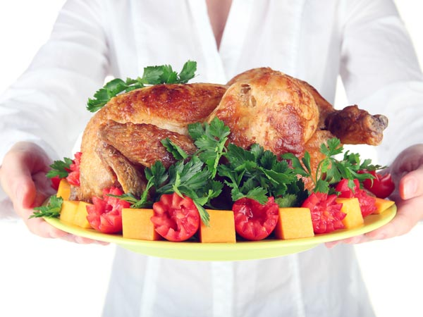 9. चिकन एंड चीज़ लैटस रैप