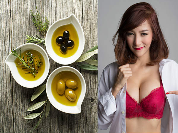Powerful Olive Oil Recipe To Lift Your Breast Naturally In 2 Months!