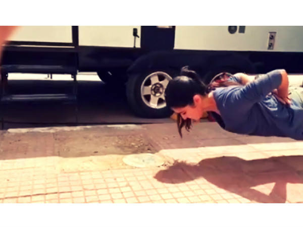 Katrina Kaif Performs Insane Push-Ups Without Using Hands