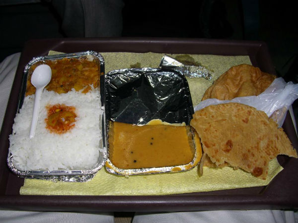 Food Served in Indian Trains Not Suitable