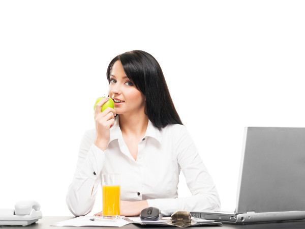 how to eat healthy at work