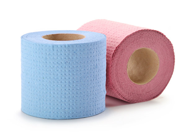 are coloured toilet papers safe