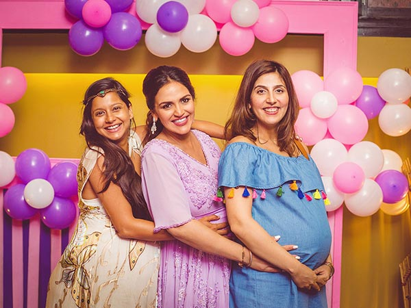 ahana deol orgnized baby shower party