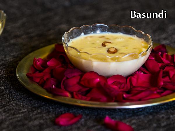बासुंदी रेसिपी