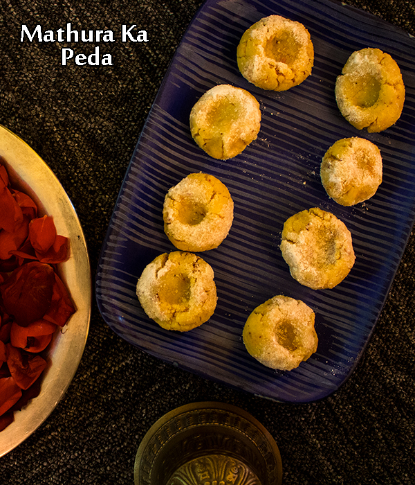 Mathura ka peda recipe