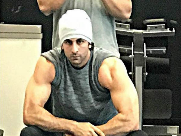 Ranbir Kapoor's Latest Beefed Up Picture For Sanjay Dutt's Biopic