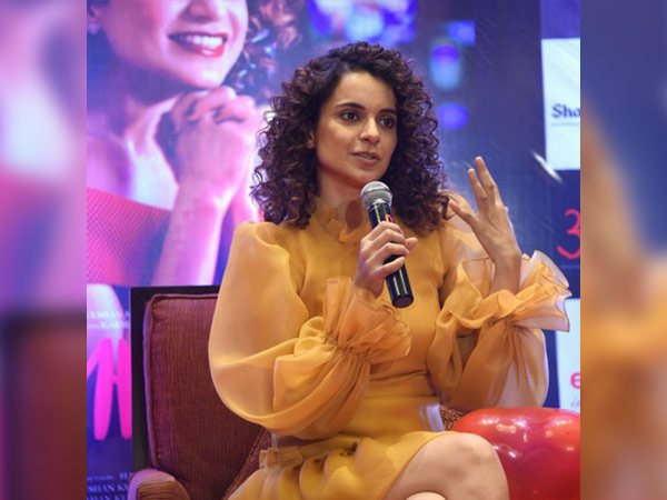 kangana ranaut in bengaluru for simran promotions