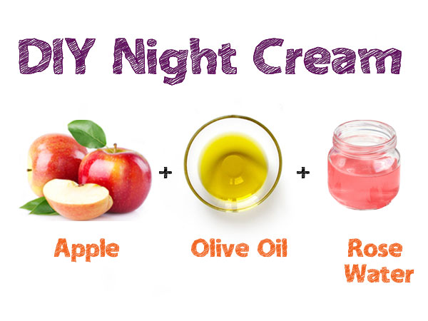Night Cream Can Now Be Made At Home Using Apples!