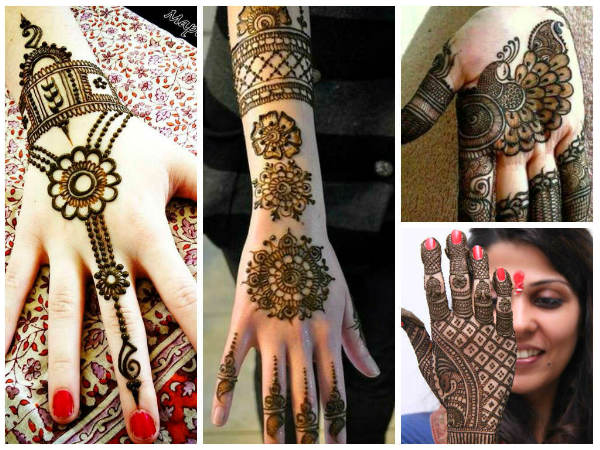 Beautiful Mehendi Designs For Karwa Chauth