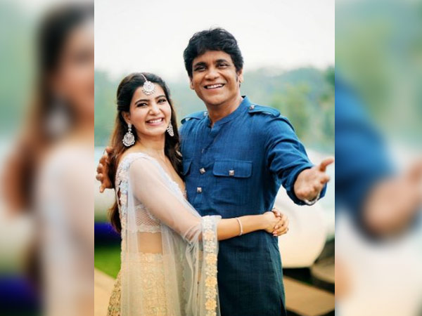 Samantha and naga chaitanya w