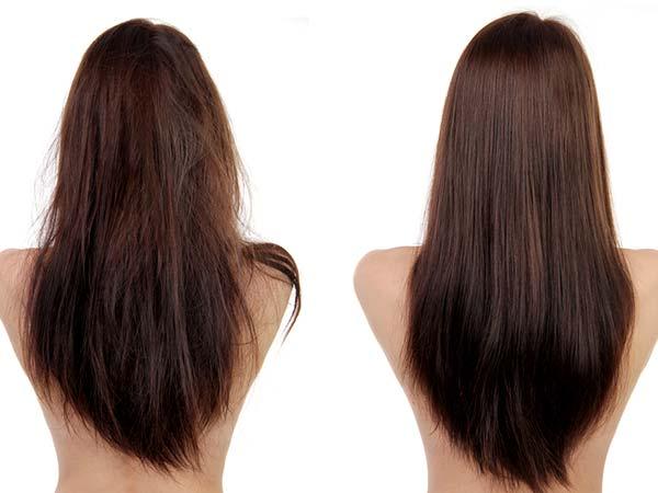 बालों की बनावट: