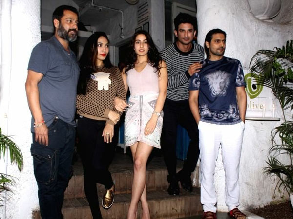 sara ali khan first look from kedarnath