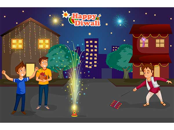 safety measures while bursting crackers