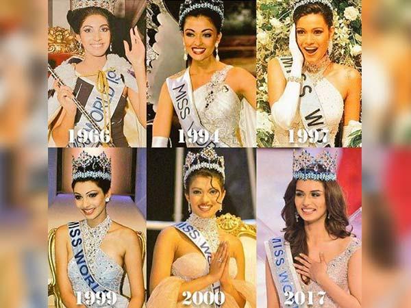 1966  से लेकर 2017 भारतीय सुंदरियों का मिस वर्ल्ड का सफर