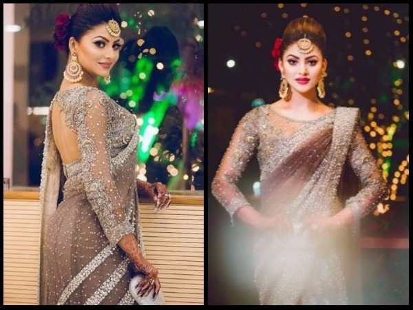 Urvashi Rautela to wear Rs 55 lakh Saree for Cousin Wedding