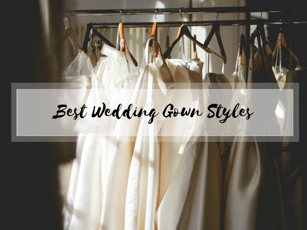 types of bridal gowns