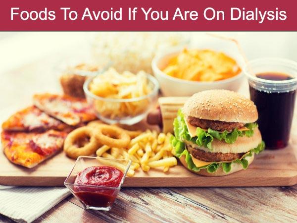 डायलिसिस पर हैं तो भूल कर भी ना खाएं ये 10 फूड