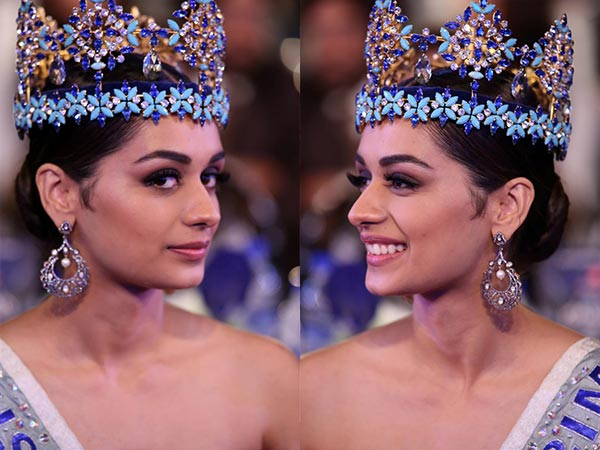 Manushi Chillar Looked Gorgeous At The Indian Of The Year Awards