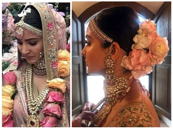 how to get the bridal beauty look of anushka sharma