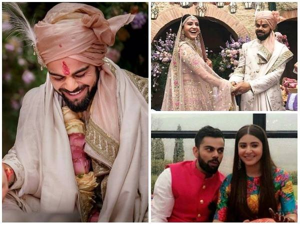 why virat kohli makes the best groom ever