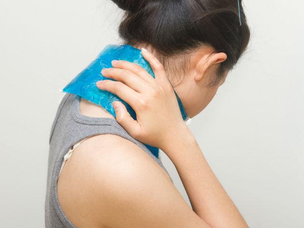 4- गर्दन में दर्द नहीं होता है: