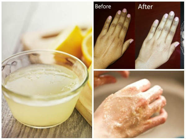 How to whiten hands in one week