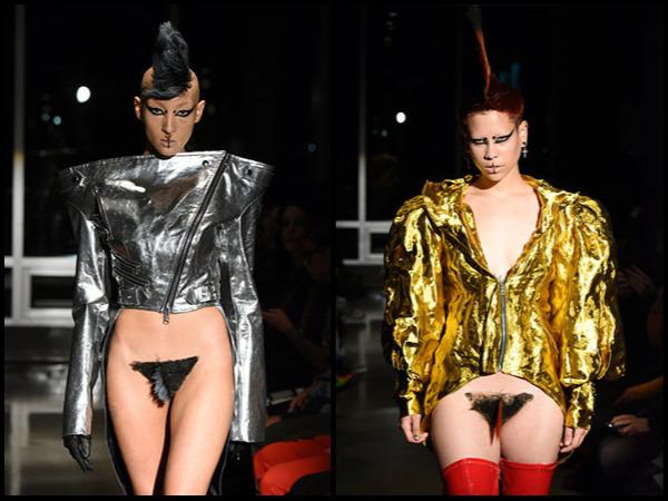 न्यूयॉर्क फैशन वीक: फैशन या अश्लीलता, वजाइना मोहाक्स के साथ मॉडल्स ने किया रैम्पवॉक